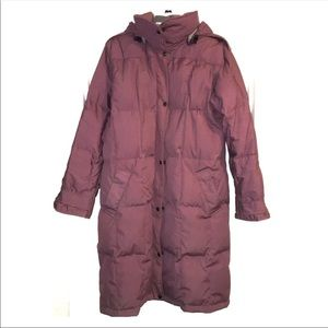 The North Face goose Down puffer parka coat sz L